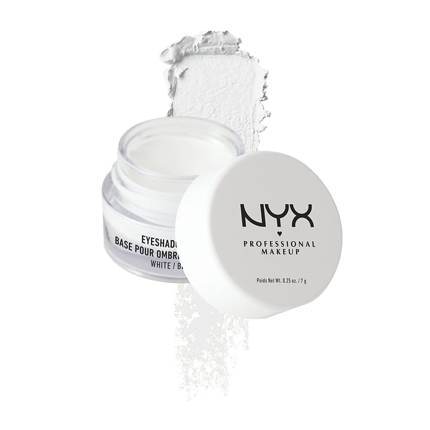 NYX Professional Makeup Eyeshadow Base White 0.25 Ounce