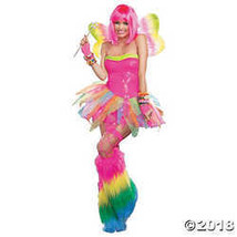 Dreamgirl Women's Rainbow Fairy Costume, Multi, Large - $57.48