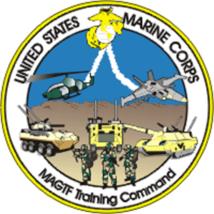 USMC MAGTF Marine Air-Ground Task Force Training Command Decal 4'' - $11.87
