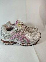 Womens ASICS Gel-Kayano 16 Pink Gray T050N Running Athletic Shoes Size 5.5 - $28.71