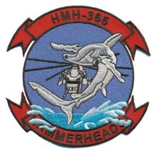 USMC HMH-366 Hammerheads Patch & Sticker - $1,000.00