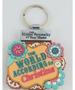 World According to Keyring Book Christina Key Chain - $1.97