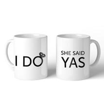 365 Printing I Do She Said Yas BFF Matching Gift Coffee Mugs 11 Oz Everl... - $24.99