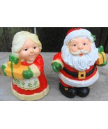 Hallmark Mr. And Mrs. Santa Claus Salt And Pepper Shakers - $12.99
