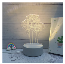 3D LED Lamp Creative Night Lights Novelty Night Lamp Table Lamp For Home 2 - £9.59 GBP