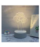 3D LED Lamp Creative Night Lights Novelty Night Lamp Table Lamp For Home 2 - $279,56 MXN