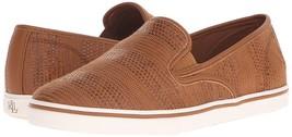 Ralph Lauren Women's Premium Janis Slip-On Athletic Fashion Sneakers Shoes Tan