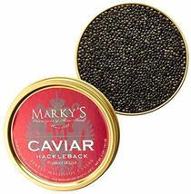 Marky's Hackleback Caviar Black American Sturgeon - 0.5 Oz - $59.35