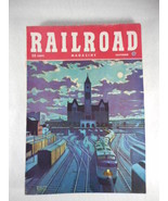 Vintage Railroad Magazine November 1948 Train on Cover - $14.80