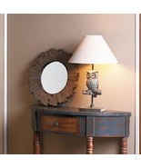 Charming Owl Table Lamp w/ Neutral shade - $32.56