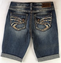 SILVER Jeans Sale Buckle Mid Rise Suki Flap Surplus Denim Jean Stretch S... - $19.97