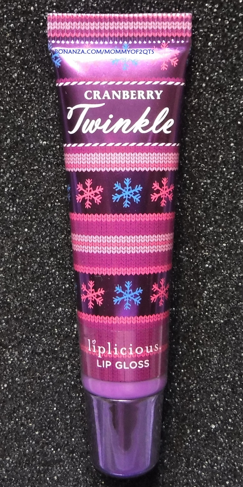 Bath Body Works Liplicious CRANBERRY TWINKLE Lip Gloss Sealed READ