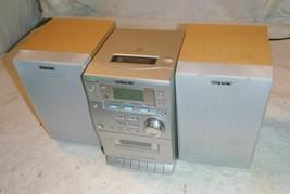 Sony HCD-EP30 AM/FM Stereo CD Cassette Micro Hi-Fi Component Shelf System - $34.99