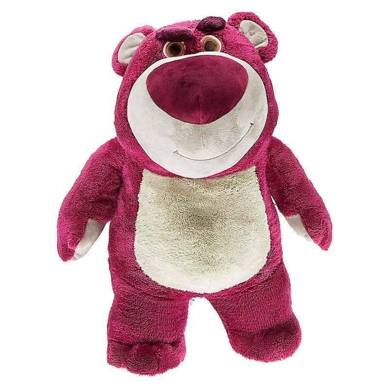 Disney Parks Lotso Bear Strawberry Scented Jumbo Plush New with Tags