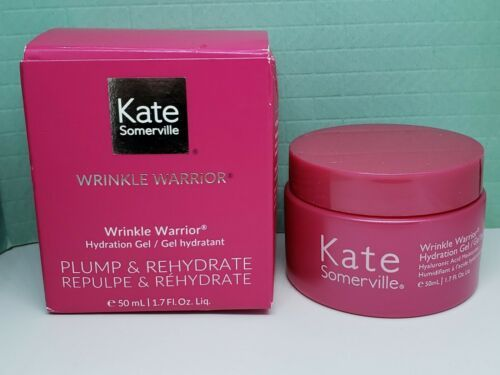 Primary image for Kate Somerville Wrinkle Warrior Hydration Gel - FULL SIZE (1.7 oz) New in Box