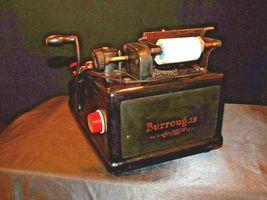 Antique Burroughs Hand Crank Adding Machine AA19-1533 image 9