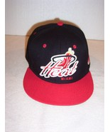 "Vintage 47 Brand ""MIAMI HEAT"" snapback red & black cap NEW - $14.84"