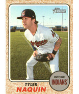 2017 Topps Heritage High Numbers #586 Tyler Naquin NM-MT Indians - $0.99