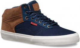 VANS Bedford + (Worchester Knit) Dress Blues/Blanc De Blanc MEN'S SIZE 7 - $49.95