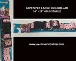 Aspen dog collar pink  web collage thumb155 crop