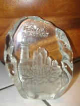 Glass paperweight of Fenwick Island, Delaware, souvenir - $23.66