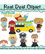 Food Truck Friday Clip Art - $1.25
