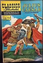 CLASSICS ILLUSTRATED #68 Julius Caesar by William Shakespeare (HRN 165) ... - $14.84