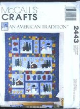McCall's Crafts Pattern ~ An American Tradition Quilt, Mantle Cover, Pil... - $7.83