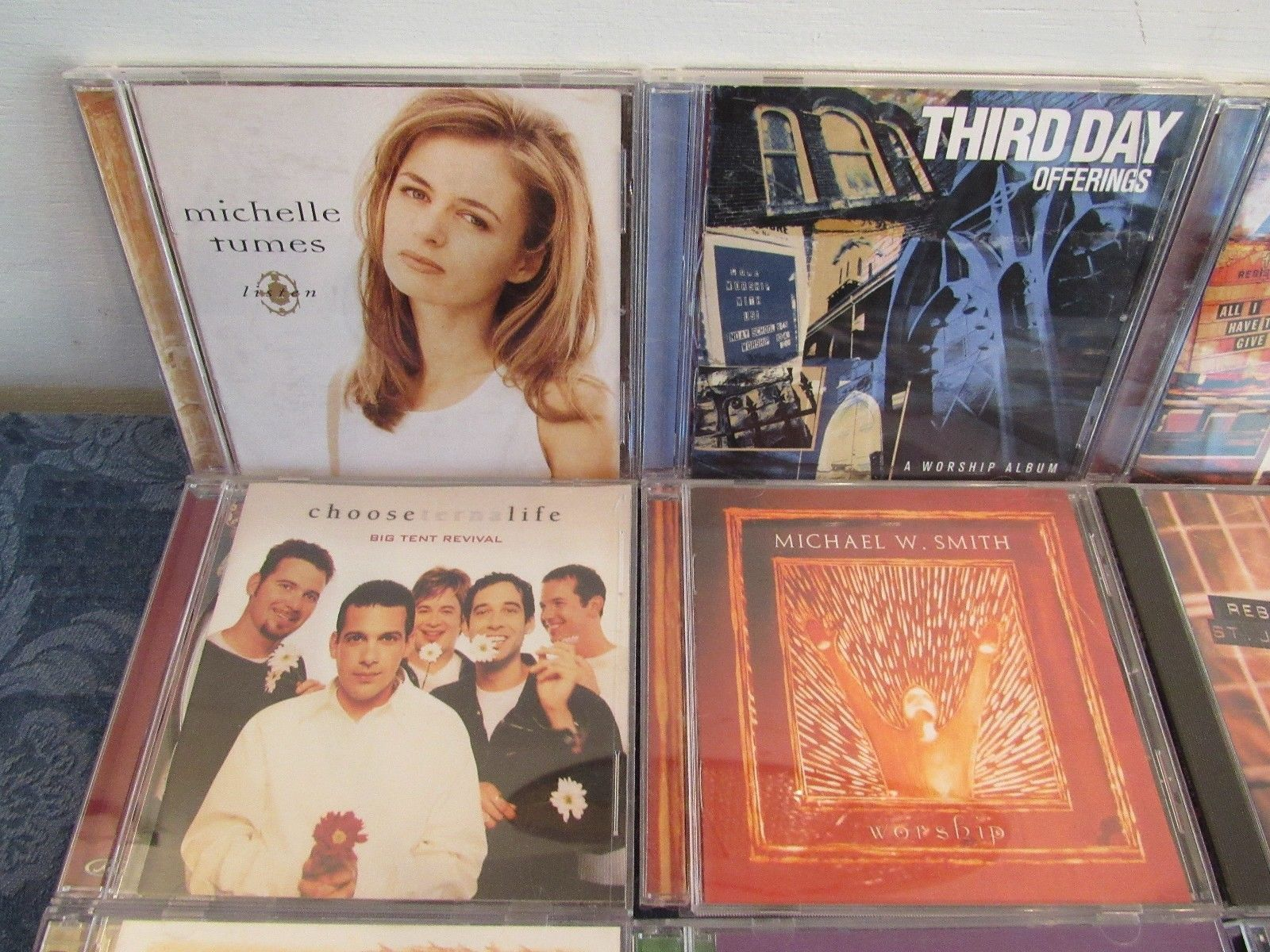 Christian Music CD Lot of 21 Third Day Lampa Tunes St. James Nordeman Bales