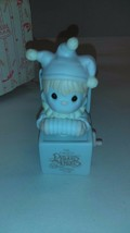 Precious Moments Just to Let You Know You're Tops figurine B0106 1991 Charter - $19.79