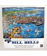 Bill Bell Art Puzzle Lobster House Fishing Village Karmin 1000 pc 27x20 ... - $15.79