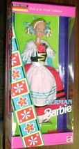 DOTW  GERMAN BARBIE  DOLL 1994  DOLLS OF THE WORLD COLLECTOR ED #12698 NRFB - $24.70