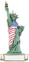 Statue of Liberty Personalized Christmas Tree Ornament - $14.95