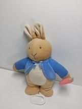 Eden Stuffed Plush Peter Rabbit Musical Crib Pull Toy You Are My Sunshine - $29.39