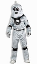 ROBOT ADULT HALLOWEEN COSTUME SILVER SIZE STANDARD RUBIO CAMPAIGN RALLY ... - £43.44 GBP