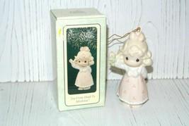 """Precious Moments """"Joy From Head To Mistletoe"""" Ornament 150126 Box Girl - $11.83"""