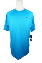 BAUER HOCKEY LOGO'D TRAINING 37.5 PREMIUM TEE - BLUE SR L SHIRT ADULT LARGE - $26.88