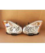 08-10 Nissan Rogue HID Xenon Headlights Set L&R - POLISHED - $404.10
