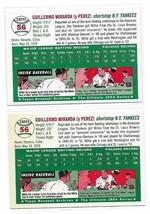 1954 Topps Archives Willie Miranda New York Yankees #56 Gold & Regular 2Cards image 2