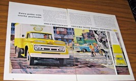 1960 Print Ad '60 Chevrolet Trucks with Total Newness Chevy - $12.51