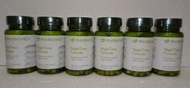 Six pack: Nu Skin Nuskin Pharmanex NightTime Night Time Formula 60 Capsules x6 - $132.00