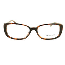 New Versace Eyeglasses VS 3178-B9445 Havana Acetate 53 16 135 Authentic - $85.50