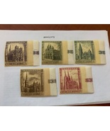 San Marino Gothic cathedrals 1967 mnh   stamps - $2.95