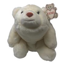 "Gund Plush Snuffles Teddy Bear 2169 White 10"" Stuffed Animal Toy Vintage... - $34.93"