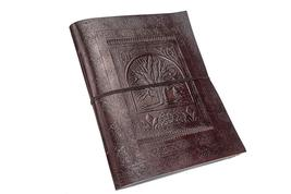 Professional Devil LEATHER JOURNAL Writing Notebook 100 Pages - Antique ... - $50.99