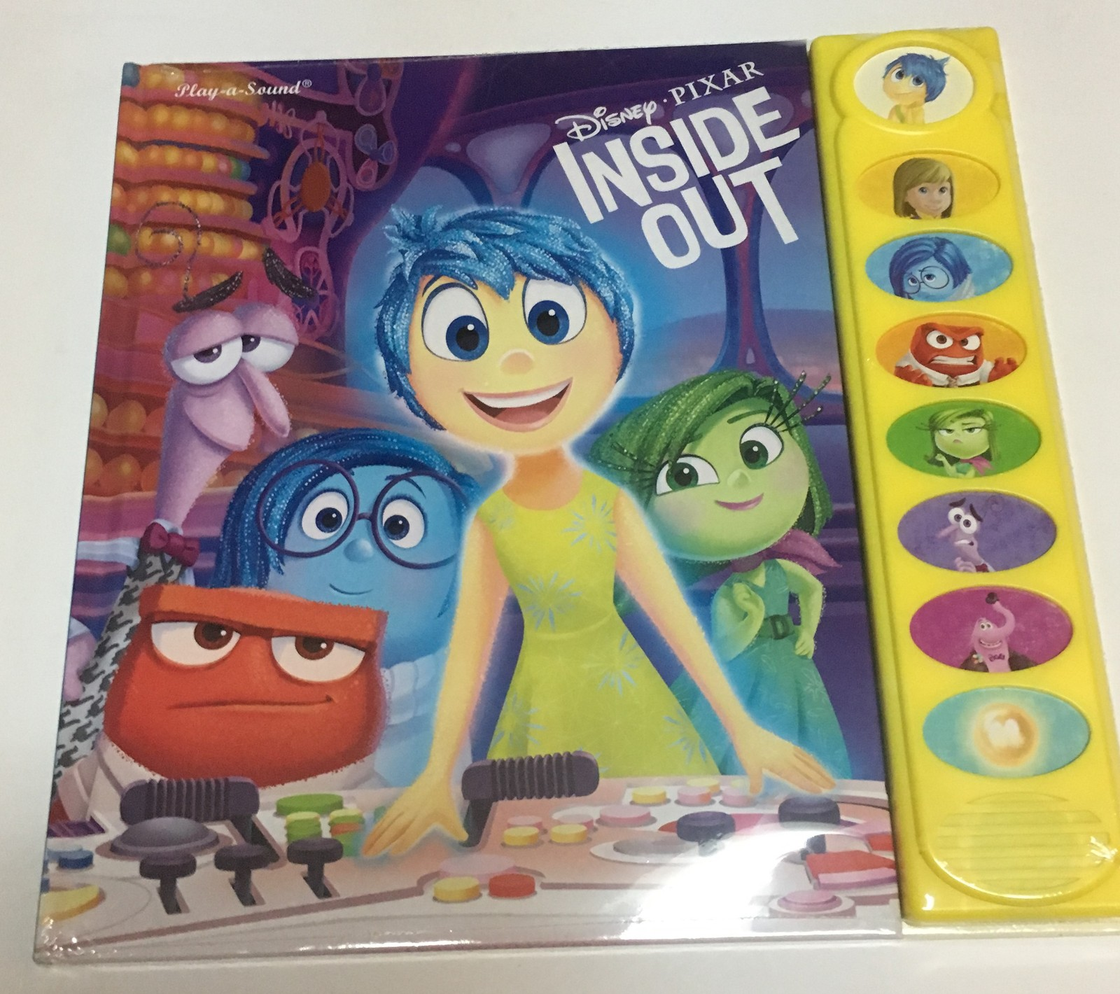 Pixar Inside Out Activity Book 18 months+ Sounds