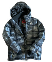 Gerry Boys Puffy Down Hooded Jacket Black Camo  - $40.99