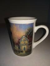 "Thomas Kinkade Victorian Light ""2000"" Tall  Mug / Cup - $7.99"