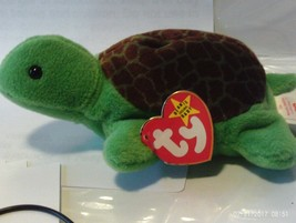 1ST Edition Beanie Babies Speedy the Turtle, No star no stamp double tush tag - $8.46