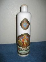 Vintage 1969 Jim Beam Beameister Ceramic Cylinder Wine Decanter Made in ... - $16.79